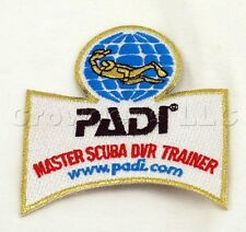 Master Scuba DVR Trainer Patch Emblem 3 inch x 3 inch