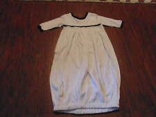 BOUTIQUE BABY BEAU & BELLE 0-3 WHITE NAVY BLUE BUNTING SACK OUTFIT