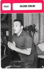 FICHE CINEMA :  VALERIO ZURLINI -  Italie (Biographie/Filmographie)
