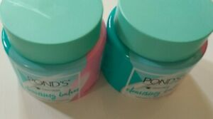 2 Pack Pond's Cold Cream Cleansing Balm - 3.38 Fl. Oz. Each