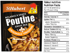 St. Hubert Poutine Sauce Mix, 52 Gram / 1.83 oz., Quick & Easy to Make, 1 Pack