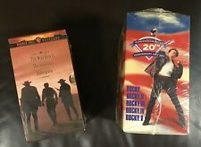 VHS Box-set Lot Rocky/Westerns