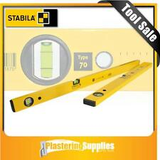 Stabila Spirit Level 2 Piece Set 60cm & 30cm Box Level Pack Type 70/60/30