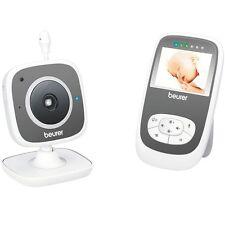 Beurer BY 99 Dual Babyphone +Elterneinheit, mit Kamera, WLAN, Smartphone, weiss