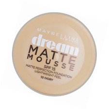 Maybelline Dream Matte Mousse Perfection 18ml Foundation * 10 Ivory