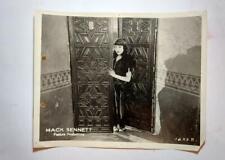 Antique Original Photo Mack Sennett Silent Film Movie Suzanna w/Mabel Normand