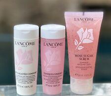 Nwob Lancome 3pcs Rosy Skin Care Collection ~ Mask, Scrub & Toner