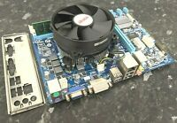 Celeron G1610 @ 2.60Hz 4GB DDR3 Gigabyte GA-H61M-DS2 DVI CPU Combo Working EB118