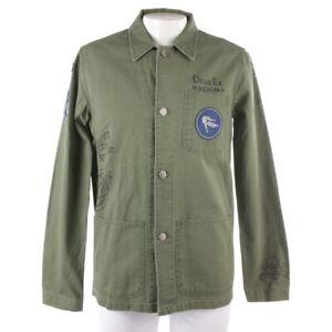 DEUS EX MACHINA Übergangsjacke Gr. M Grün Herren Jacke Jacket Coat Neu