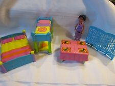 DORA THE EXPLORER TALKING DOLLHOUSE ACCESSORIES Bunk bed parents bed mom figure