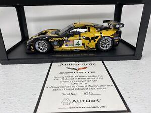1/18 Auto Art 2007  Corvette C6R  ALMS Beretta Gavin Limited Part # 80705