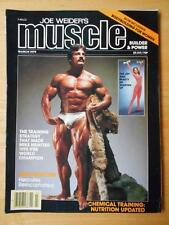 MUSCLE BUILDER bodybuilding magazine/Heavy Duty MIKE MENTZER/Schwarzenegger 3-79