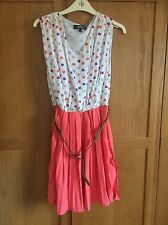 New York Laundry Pretty Floral Summer / Festival Dress Size 14