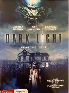 DARK LIGHT DVD Jessica Madsen Ben Sullivan 2019 Horror AS NEW!