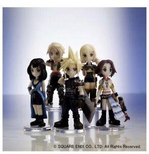 Square Enix FINAL FANTASY TRADING ARTS Mini Figures Sealed Case Of Nine Japan Ex