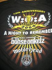ULTRARAR Kinder Wacken Shirt 2004 Gr. 128 Böhse Onkelz Motörhead oi punk