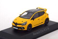 RENAULT CLIO RS 1.6 2016 SPORT YELLOW NOREV 517599 1/43 JAUNE GELB AMARILLO