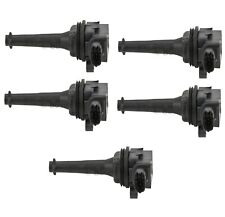Set of 5 Bosch Direct Ignition Coils for Volvo C70 S60 S70 S80 V70 XC90 L5 NEW