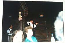 Vintage Photography PHOTO OLD WORLD GERMAN FOLK DANCER PLAYING VIOLIN TOURISTS