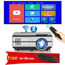 Wireless Portable Android Home Theater Projector Blue-tooth Movie Free Air Mouse