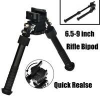 "6.5""-9"" Hunting Tactical Picatinny Rail Mount Foldable Adjustable Rifle Bipod"