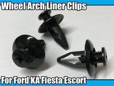 10x Wheel Arch Liner Bumper Fender Clips For Ford KA Fiesta Escort Galaxy