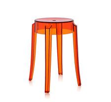 Kartell Charles Ghost Tabouret Orange