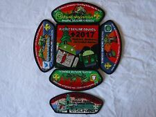 2017 Scout National Jamboree Pacific Skyline Council Patch Set Android