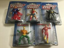 New Justice League Superman Batman Wonder Woman Aquaman Flash Figurines