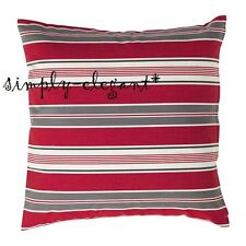IKEA Christmas Cushion Cover VINTER 2016 Holiday Pillow Cover Red White Stripe