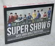 Super Junior World Tour in Seoul Super Show 6 Taiwan Ltd 2-DVD (Chinese-sub.)