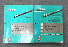 1996 Pontiac Grand Am Oldsmobile Achieva Skylark Service Manual Set