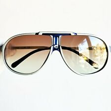 occhiali da sole CARRERA JET 09 drop sun sunglasses a goccia blue white vintage