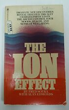 The ion Effect Fred Soyka and Alan Edmonds Vintage 1978 Paperback 2nd printing