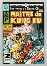 FRENCH COMIC FRANÇAIS EDITION HERITAGE CANADA  MASTER MAITRE KUNG FU  # 60 / 61