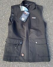 Women's Mobile Warming Black Vest New With Tags Size Large