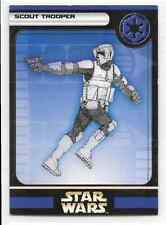 2004 Star Wars Miniatures Scout Trooper Stat Card Only Swm Mini