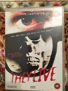 John Carpenter's-  They Live DVD, 2002 Rated 18