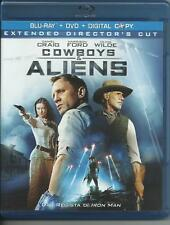 Cowboys & Aliens (2011) Blu Ray