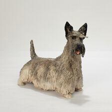 Vintage Maude Studio Porcelain Scottish Terrier Dog Figurine - Scotty Scottie Pc
