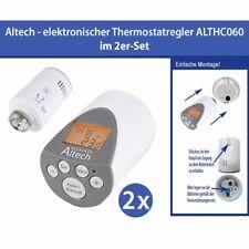 2 Piece Electronic Radiator Thermostat Thermostat Valve Altech ALTHC060