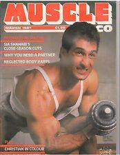 Muscle & Co. bodybuilding magazine/Sia Shahabi/Reg Park 3-87 (UK)