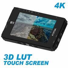"FOTGA DP500IIIS A70TLS 7"" IPS Camera Filed Video Monitor Touch Screen SDI 3D LUT"