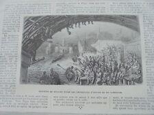 1876 Stich 2  / Bulgarien / London Rudern Regatta Cambridge Oxford