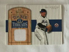 2004 DonRuss TOM GLAVINE Timber & Threads Game Used Jersey Relic Baseball Card