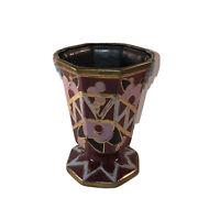 Belgian Art Deco Ceramic Vase by Cerabelga
