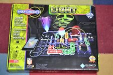 Snap Circuits LIGHT Electronics Exploration Kit 175 Exciting STEM Complete NICE!