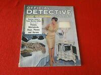 Vintage Official Detective Stories Magazine November 1964                     UU
