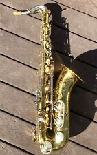 1962 King Super 20 Tenor Saxophone Cleveland, Ohio Pro-Owned Silver Neck Sax