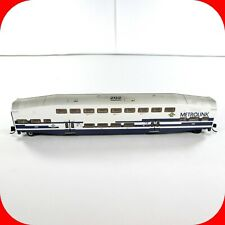 N Scale BOMBARDIER METROLINK Passenger Coach Car #202 - ATHEARN 10160 *Weathered